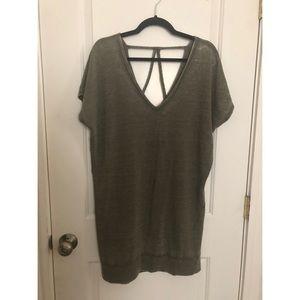 NWOT Express Shirt Dress